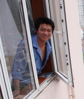 Hot Chinese repairman.